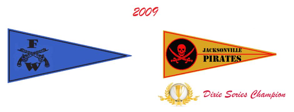 2009 Pennant Winners