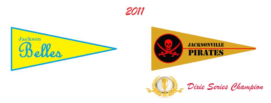 2011 Pennant Winners