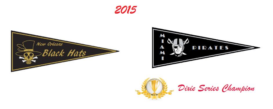 2015 Pennant Winners