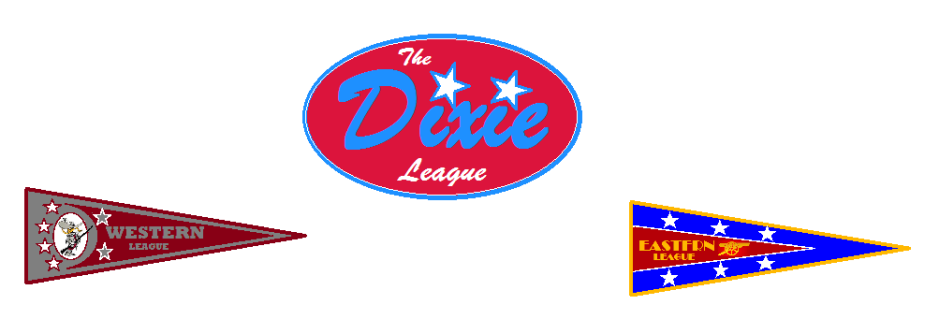 Dixie logo and pennants