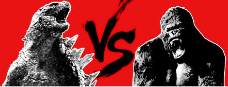 king kong vs godzilla - banner