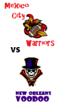 warriors vs voodoo