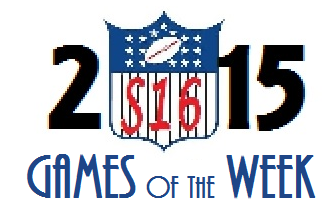 2015 Games of the Week Title