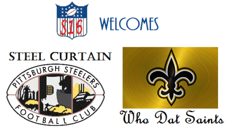 wELCOME sTEELERS, sAINTS