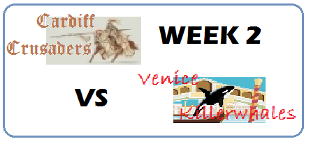 The Week 2 match-up between the Crusaders and Killer Whales should be a great one